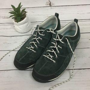 L.L. Bean Suede Lace Up Shoes, Size 10